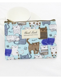 Fashion Multi-color Cartoon Pattern Decorated Coin Purse