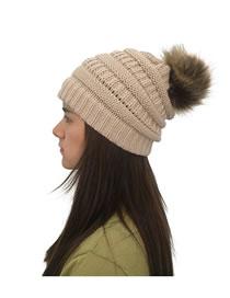 Fashion Khaki Pure Color Decorated Hat