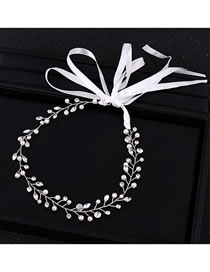 Fashion White Pearls&diamond Decorated Hair Accessories