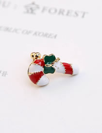 Fashion Multi-color Bowknot Shape Decorated Earring(1piece)