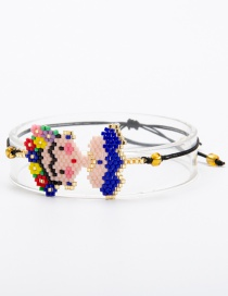 Fashion Blue Cartoon Pattern Decorated Bracelet