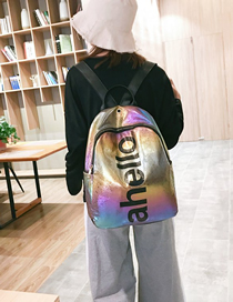 Fashion Color Large-capacity Travel Backpack