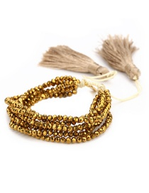Fashion Gold Devil's Eye Set Bracelet