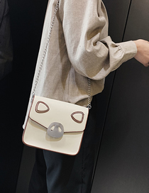 Fashion White Piglet Crossbody Shoulder Bag