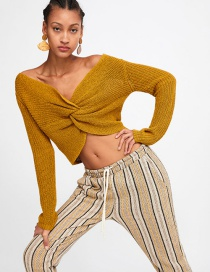 Fashion Ginger Yellow Sweater