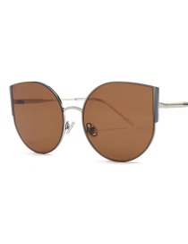 Fashion Whole Tea Cat Eye Sunglasses