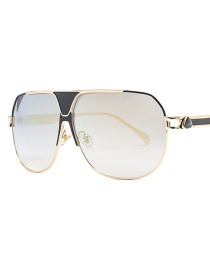 Fashion Local Gold Sports Sunglasses