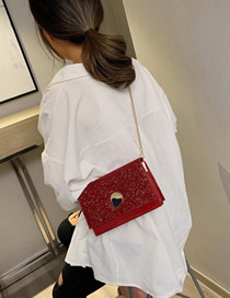 Fashion Red Sequin Shoulder Messenger Shoulder Bag