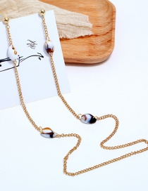 Fashion Gold Hanging Neck One-piece Body Earrings