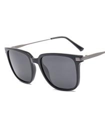 Fashion Black Polarized Sunglasses