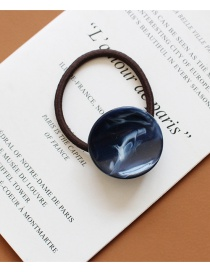 Fashion Sapphire Houndstooth Acetate Hair Ring