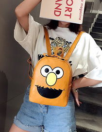 Fashion Yellow Cartoon Backpack