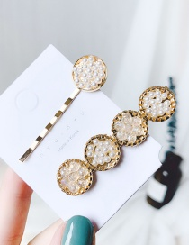 Fashion A#paragraph Bead Flower Order Is Different (pair) Imitation Pearl Clip