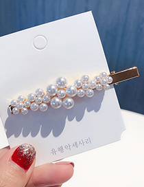 Fashion More Than Five Flowers Pearl Hairpin