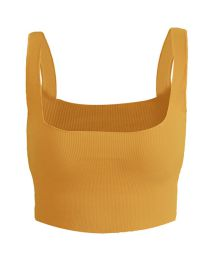 Fashion Yellow Sling Vest