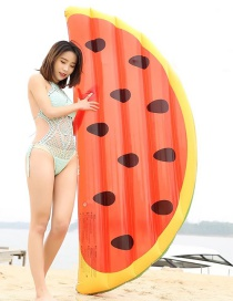 Fashion Watermelon Inflatable Row Riding Ring