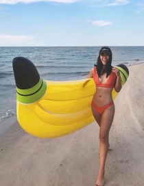 Fashion Banana Floating Row Inflatable Row Riding Ring