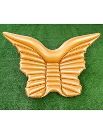 Fashion Golden Wings Floating Row Inflatable Floating Row Mount Swimming Ring