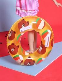 Fashion Yellow Children's Swim Ring
