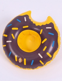 Fashion Donut Coffee Cup Holder Inflatable Water Coaster