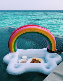 Fashion Rainbow Ice Bar Inflatable Water Coaster