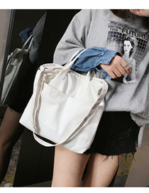 Fashion White Shoulder Handbag