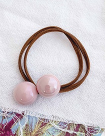 Fashion Pink Candy-colored Rubber Band
