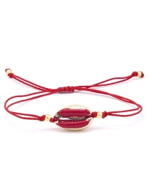 Fashion Red Shell Bracelet