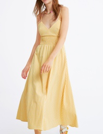 Fashion Yellow Dress