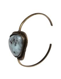Fashion Bronze Metal Stone Bracelet