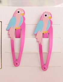 Fashion Blue-pink Parrot Child Hair Clip