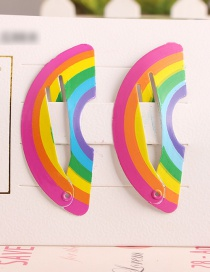 Fashion Rainbow Watermelon Child Hair Clip
