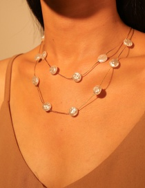Fashion Gold Alloy Pearl Necklace