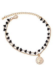 Fashion 14k Gold Crystal Bracelet - Avatar