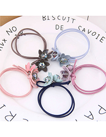 Fashion Random Color Select (1 Price) Flower Rubber Band