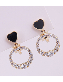 Fashion Gold Love Ear Clip