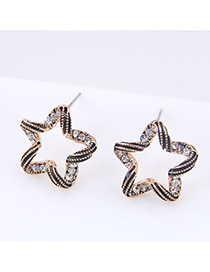 Fashion Gold Stud Earrings