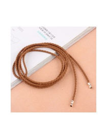 Fashion Camel Alloy Pendant Knitted Knot