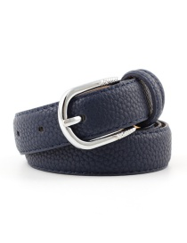 Fashion Navy Pin Buckle Belt