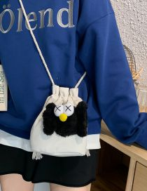 Fashion White Cartoon Crab Shoulder Crossbody Bag