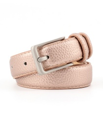 Fashion Bronze Alloy Buckle Belt