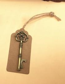 Fashion A Ancient Bronze Antique Keychain Bottle Opener