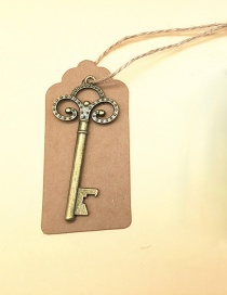 Fashion I Ancient Bronze Antique Keychain Bottle Opener