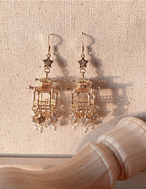 Fashion Pearl Pearl Sequin Earrings