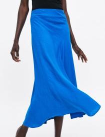 Fashion Blue Skirt