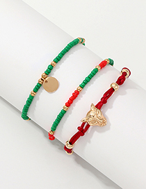 Fashion Color Rice Beads Series Braided Bracelet