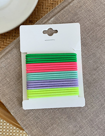 Fashion Color Fine 20 Fluorescent Color Hair Band Circle
