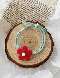 Fashion Matching Money - Red Flowers Contrast Flower Circle Hair Band