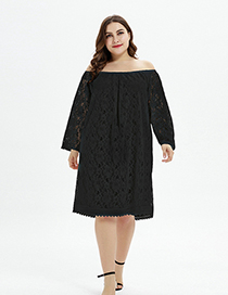 Fashion Black One Dress And Two Lace Dresses