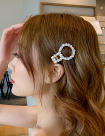 Fashion Basket Flower Imitation Pearl Sequins Hairpin